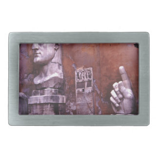 Sculpted Body Parts  Colossus of Constantine Rome Belt Buckle