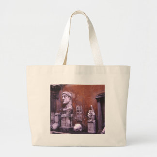 Sculpted Body Parts  Colossus of Constantine Rome Large Tote Bag