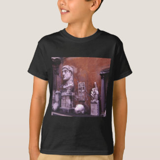 Sculpted Body Parts  Colossus of Constantine Rome T-Shirt