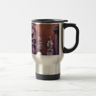 Sculpted Body Parts  Colossus of Constantine Rome Travel Mug