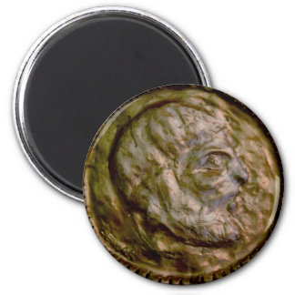 Sculpted Coin with Ancient Look Magnet