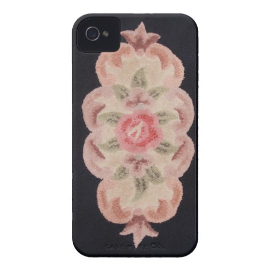 Sculpted Floral iPhone 4 Cover