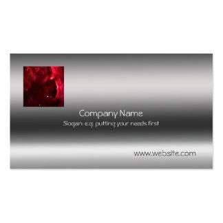 Sculpted Region, Orion Nebula Metallic template Business Card