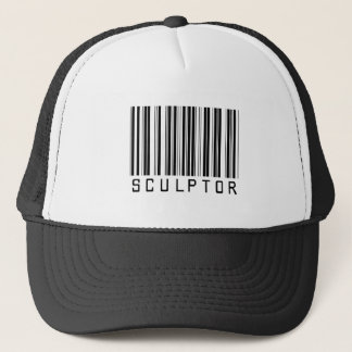 Sculptor Bar Code Trucker Hat