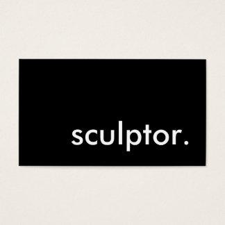 sculptor. business card