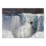 Sculptural Beauty at Niagara Falls Card