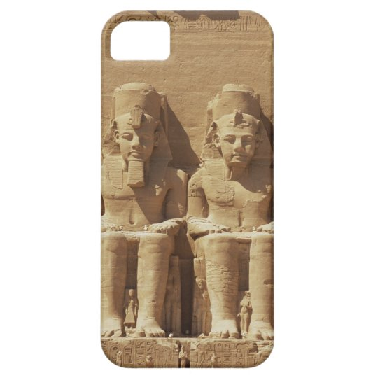 Sculpture at Abu Simbel -Cairo, Egypt iPhone SE/5/5s Case