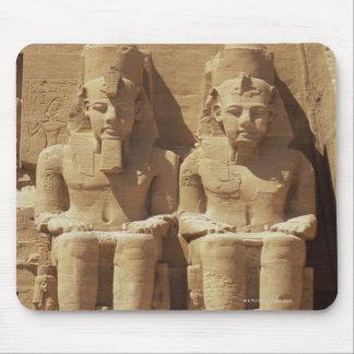 Sculpture at Abu Simbel -Cairo, Egypt Mouse Pad
