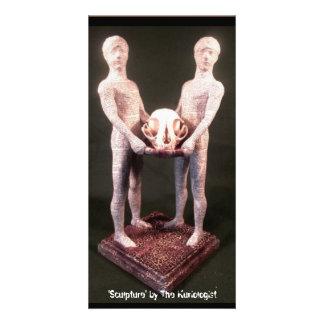 'Sculpture' by The Kuriologist Card