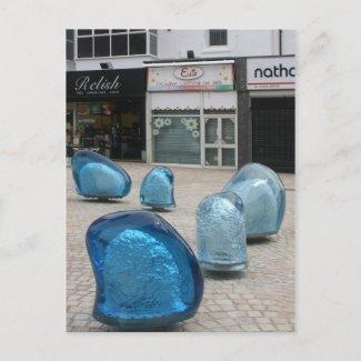 Sculpture, Cedar Square postcard