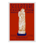 Sculpture Exhibition 1936 WPA Print