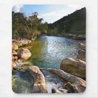 Sculpture Falls 4 Barton Creek in Austin Texas Mouse Pad