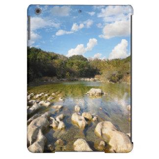 Sculpture Falls Barton Creek in Austin Texas 2 iPad Air Cover