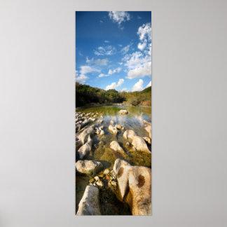 Sculpture Falls Barton Creek in Austin Texas 2 Print