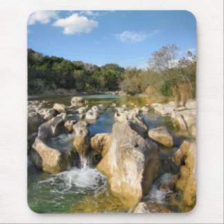 Sculpture Falls Barton Creek in Austin Texas 3 Mouse Pad