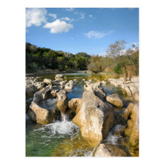 Sculpture Falls Barton Creek in Austin Texas 3 Postcard
