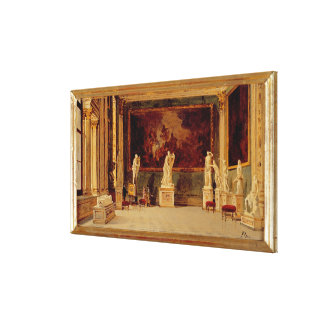 Sculpture Gallery at the Pitti Palace, Florence (o Canvas Print