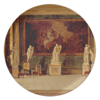 Sculpture Gallery at the Pitti Palace, Florence (o Party Plate