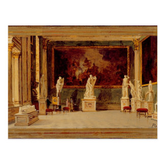 Sculpture Gallery at the Pitti Palace, Florence (o Postcard