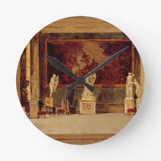 Sculpture Gallery at the Pitti Palace, Florence (o Round Clock