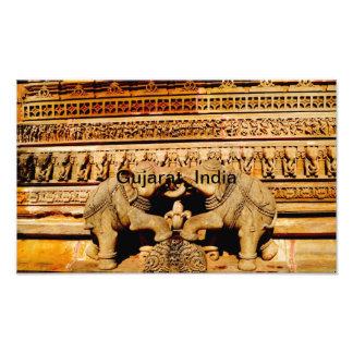 Sculpture, Gujarat, India Photo Print