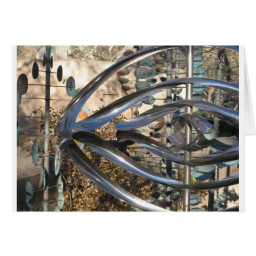 Sculpture in Sedona, Arizona Card