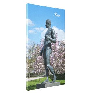 Sculpture near Academic Art Museum in Bonn Canvas Prints