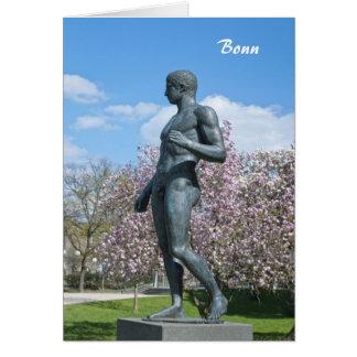 Sculpture near Academic Art Museum in Bonn Card