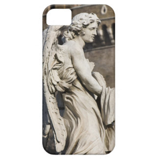 Sculpture of Angel with garment and dice on Sant iPhone 5 Case