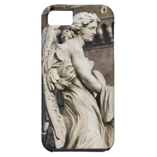 Sculpture of Angel with garment and dice on Sant iPhone 5 Covers