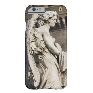 Sculpture of Angel with garment and dice on Sant iPhone 6 Case