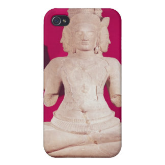 Sculpture of Brahma with four faces 2 Cover For iPhone 4