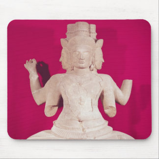 Sculpture of Brahma with four faces 2 Mouse Pad