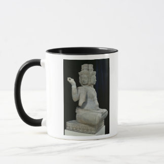 Sculpture of Brahma with four faces Mug