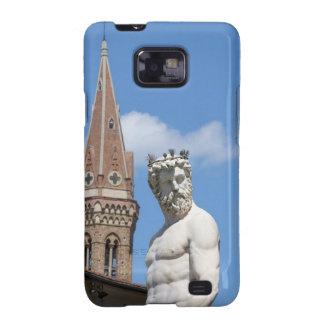 sculpture of Neptune on Fontana di Nettuno Samsung Galaxy SII Case