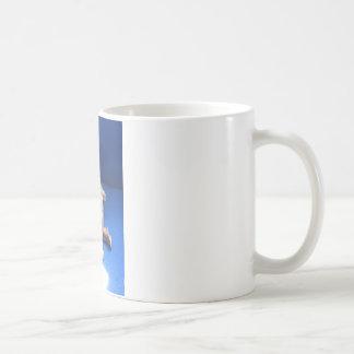 sculpture raku homme mug à café