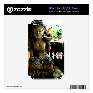 Sculpture Temple in Bali iPod Touch 4G Skin