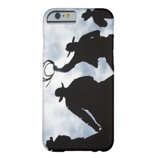 sculpture that welcomes you to Dodge City Kansas 2 Barely There iPhone 6 Case