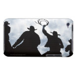 sculpture that welcomes you to Dodge City Kansas 2 Barely There iPod Case