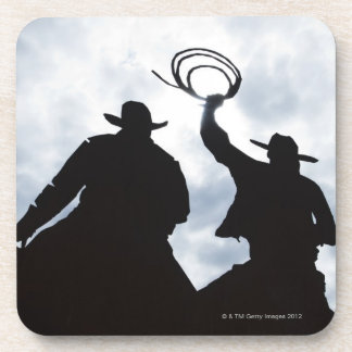 sculpture that welcomes you to Dodge City Kansas 2 Coaster
