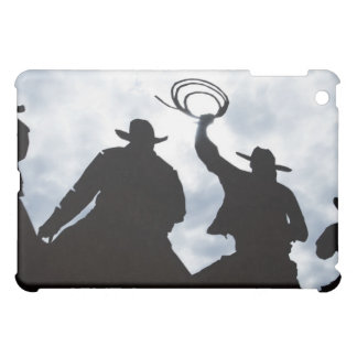 sculpture that welcomes you to Dodge City Kansas iPad Mini Cases