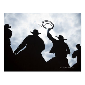 sculpture that welcomes you to Dodge City Kansas Postcard
