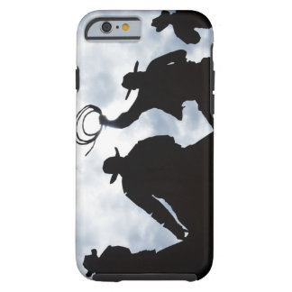sculpture that welcomes you to Dodge City Kansas Tough iPhone 6 Case