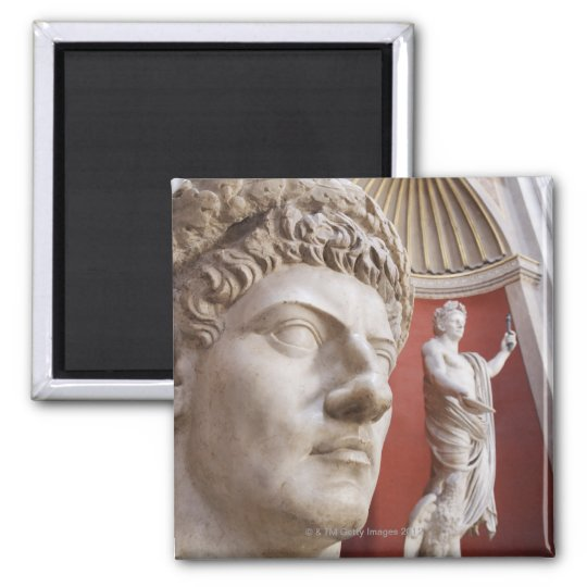 Sculptures inside Vatican Museum, Vatican City, 3 Magnet