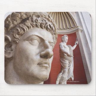 Sculptures inside Vatican Museum, Vatican City, 3 Mouse Pad
