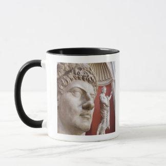 Sculptures inside Vatican Museum, Vatican City, 3 Mug