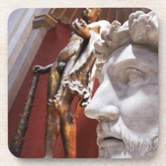 Sculptures inside Vatican Museum, Vatican City, Coaster