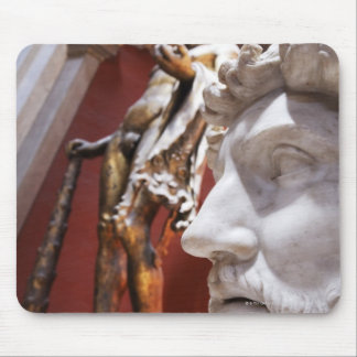 Sculptures inside Vatican Museum, Vatican City, Mouse Pad