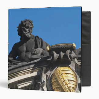 Sculptures on the Royal Art Academy, Dresden 3 Ring Binder