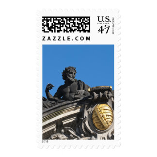 Sculptures on the Royal Art Academy, Dresden Postage